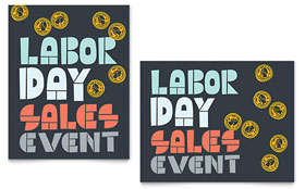 Labor Day - Poster Template
